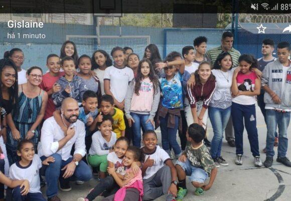 Visita do Sr. Prefeito Bruno Covas ao Centro Social